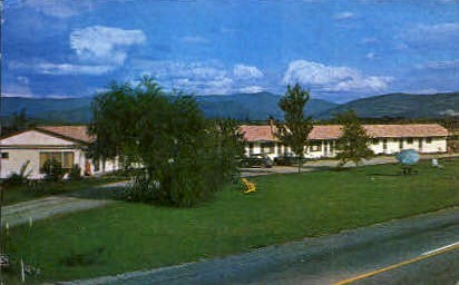 New Haven Motel - Vergennes, Vermont VT Postcard