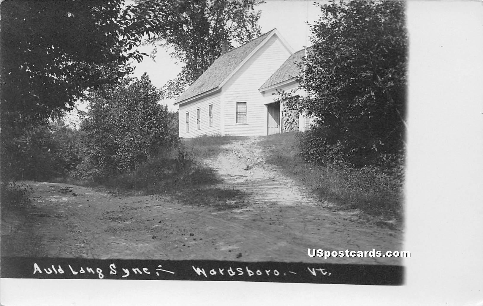 Auld Lang Sync - Wardsboro, Vermont VT Postcard