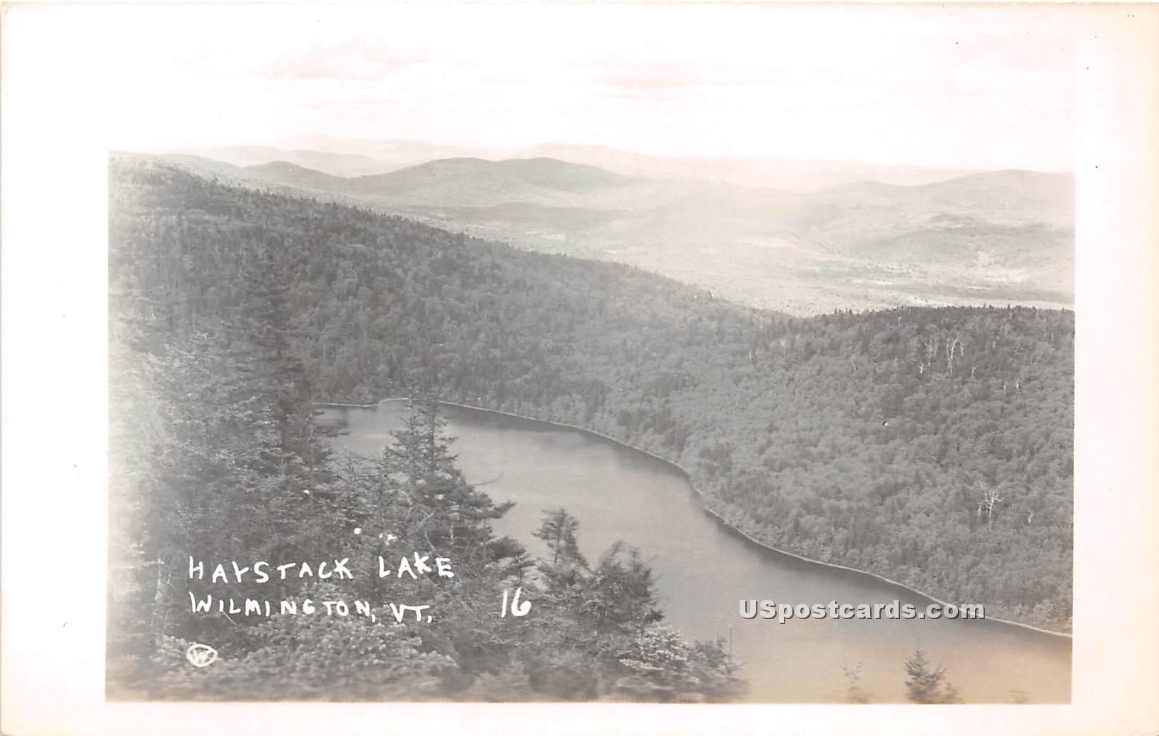 Haystack Lake - Wilmington, Vermont VT Postcard