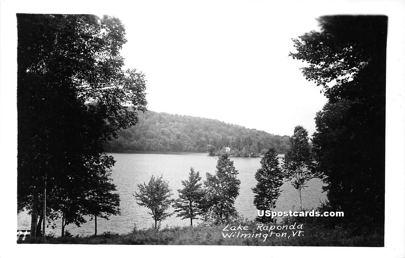 Lake - Wilmington, Vermont VT Postcard