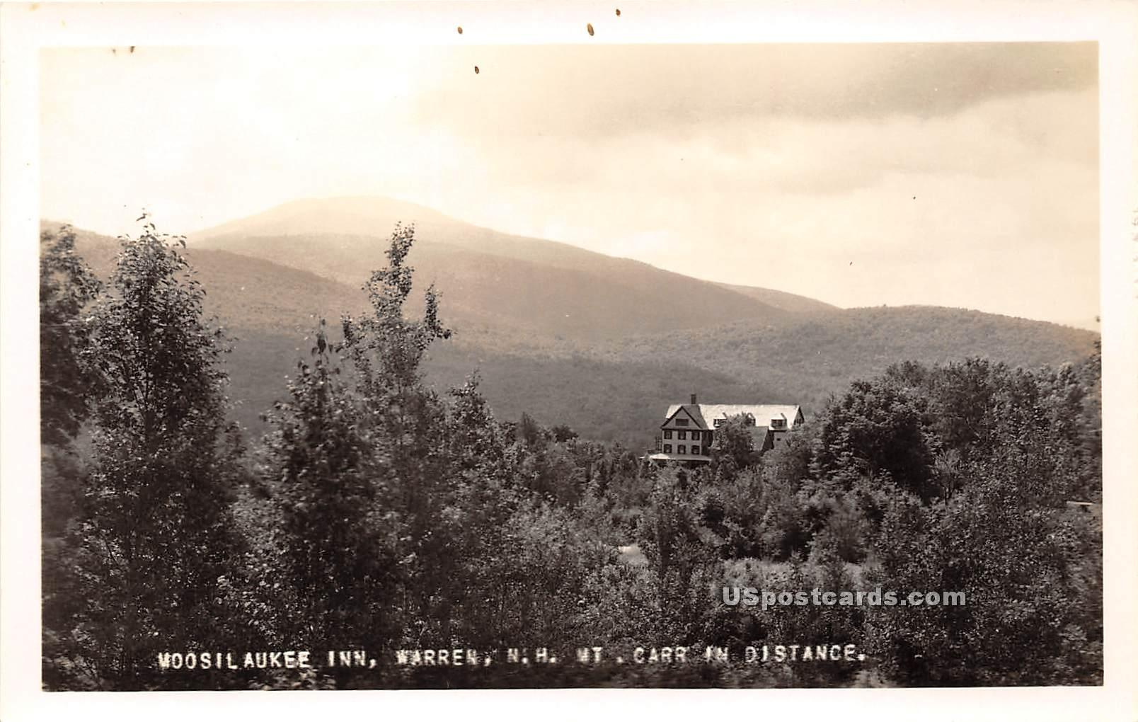 Moosilaukee Inn - Warren, Vermont VT Postcard