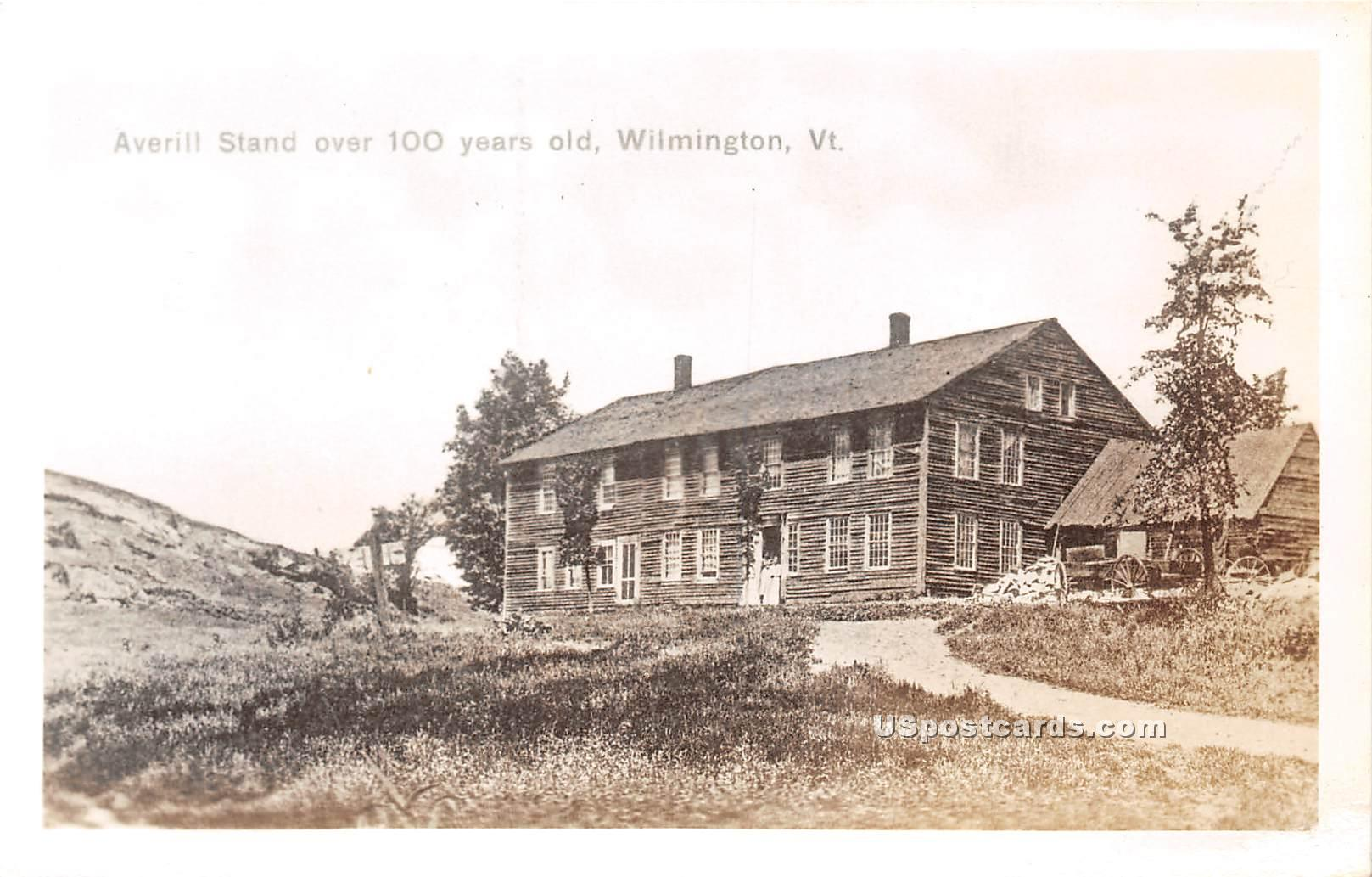 Averill Stand - Wilmington, Vermont VT Postcard