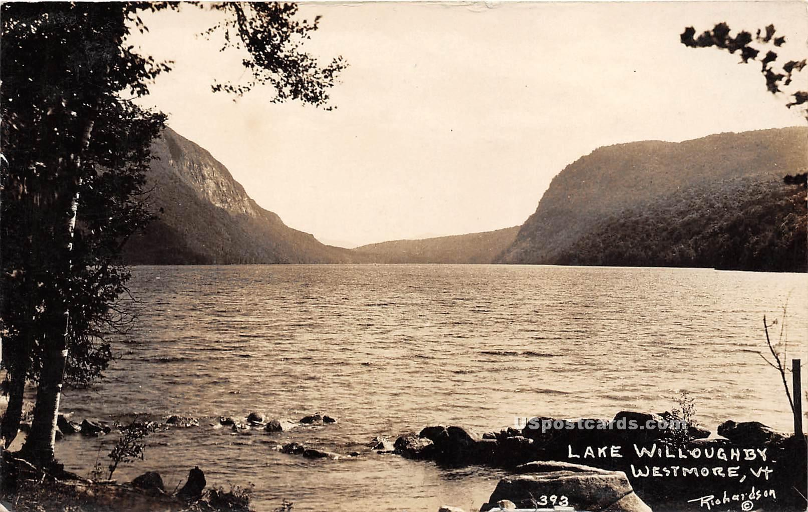 Lake Willoughby - Westmore, Vermont VT Postcard