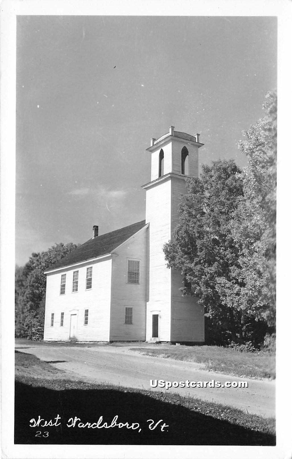 Church - West Wardsboro, Vermont VT Postcard