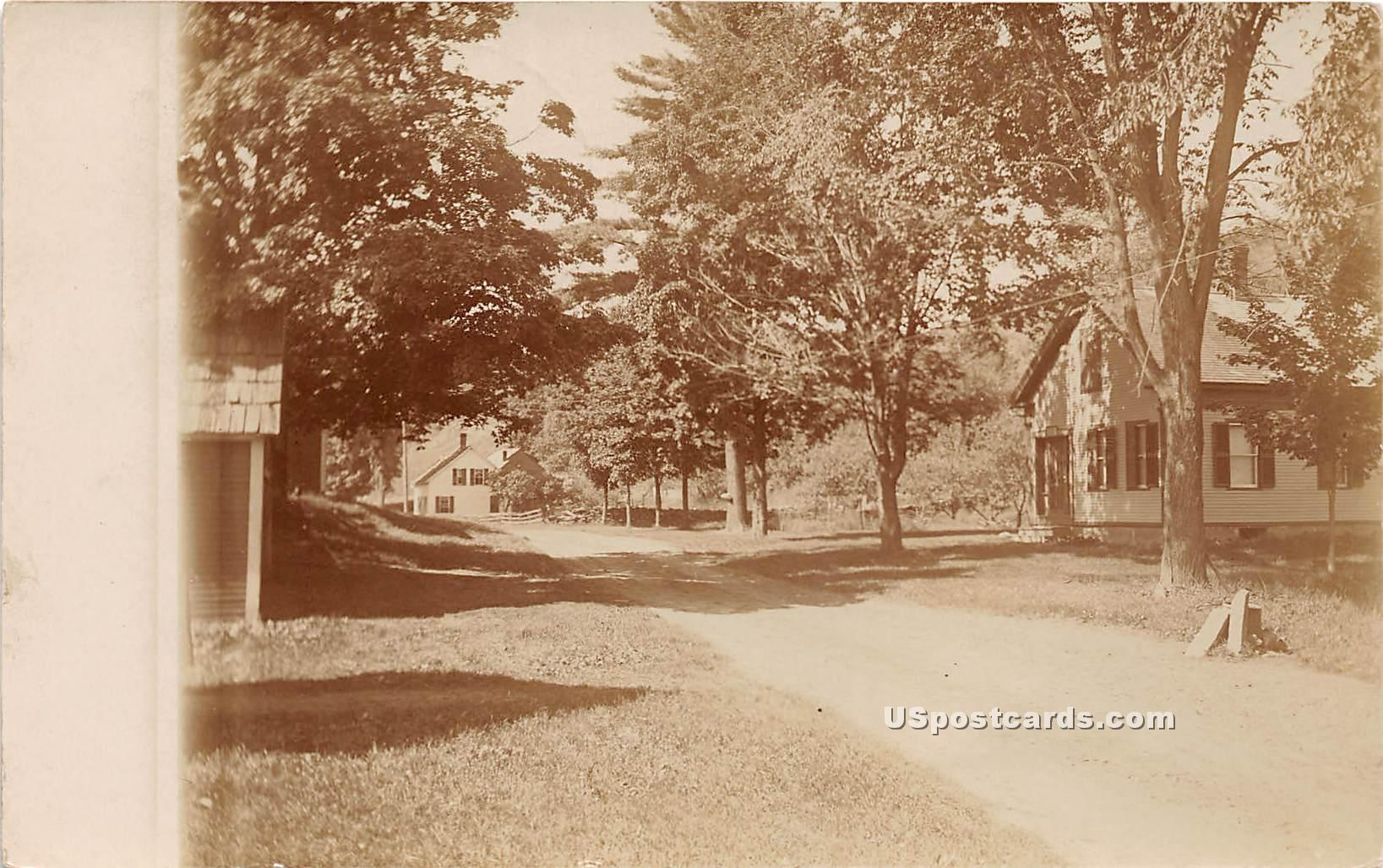 Street Scene - Williamstown, Vermont VT Postcard