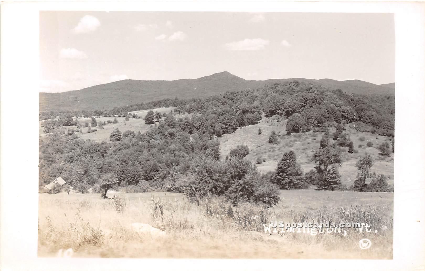Birdseye View - Wilmington, Vermont VT Postcard