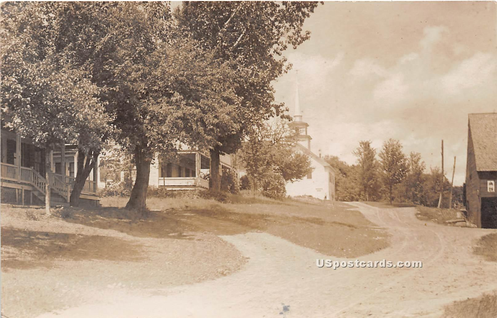 Dirt Road - Windham, Vermont VT Postcard
