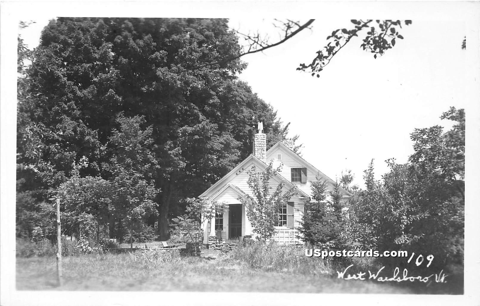 Cottage - West Wardsboro, Vermont VT Postcard