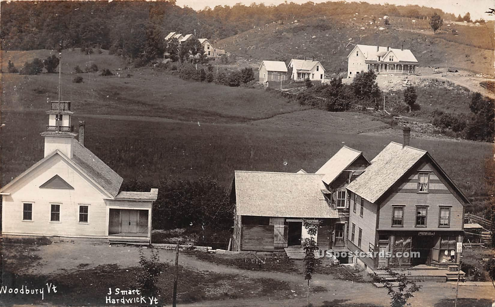 J Smart - Woodbury, Vermont VT Postcard