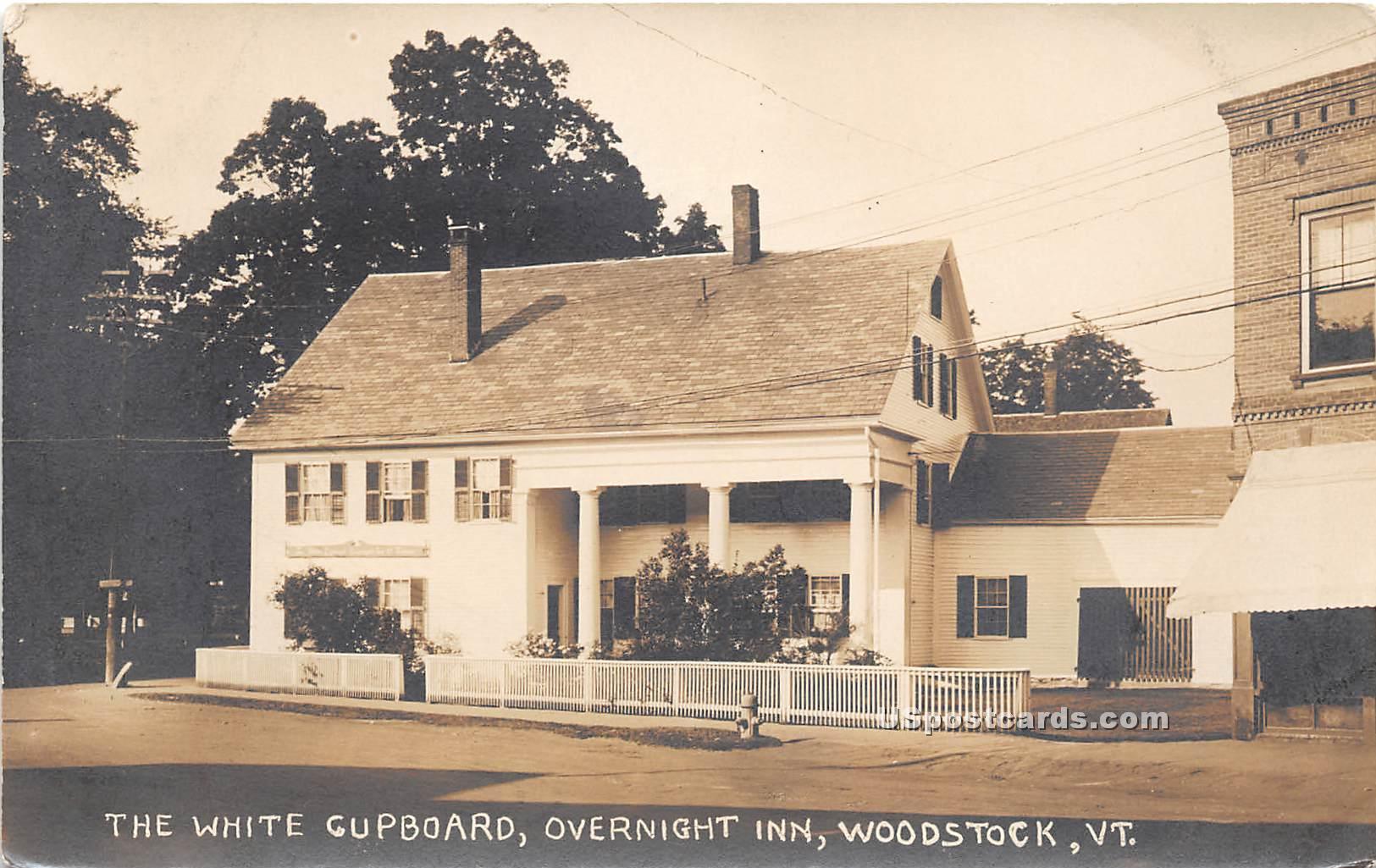 White Cupboard - Woodstock, Vermont VT Postcard