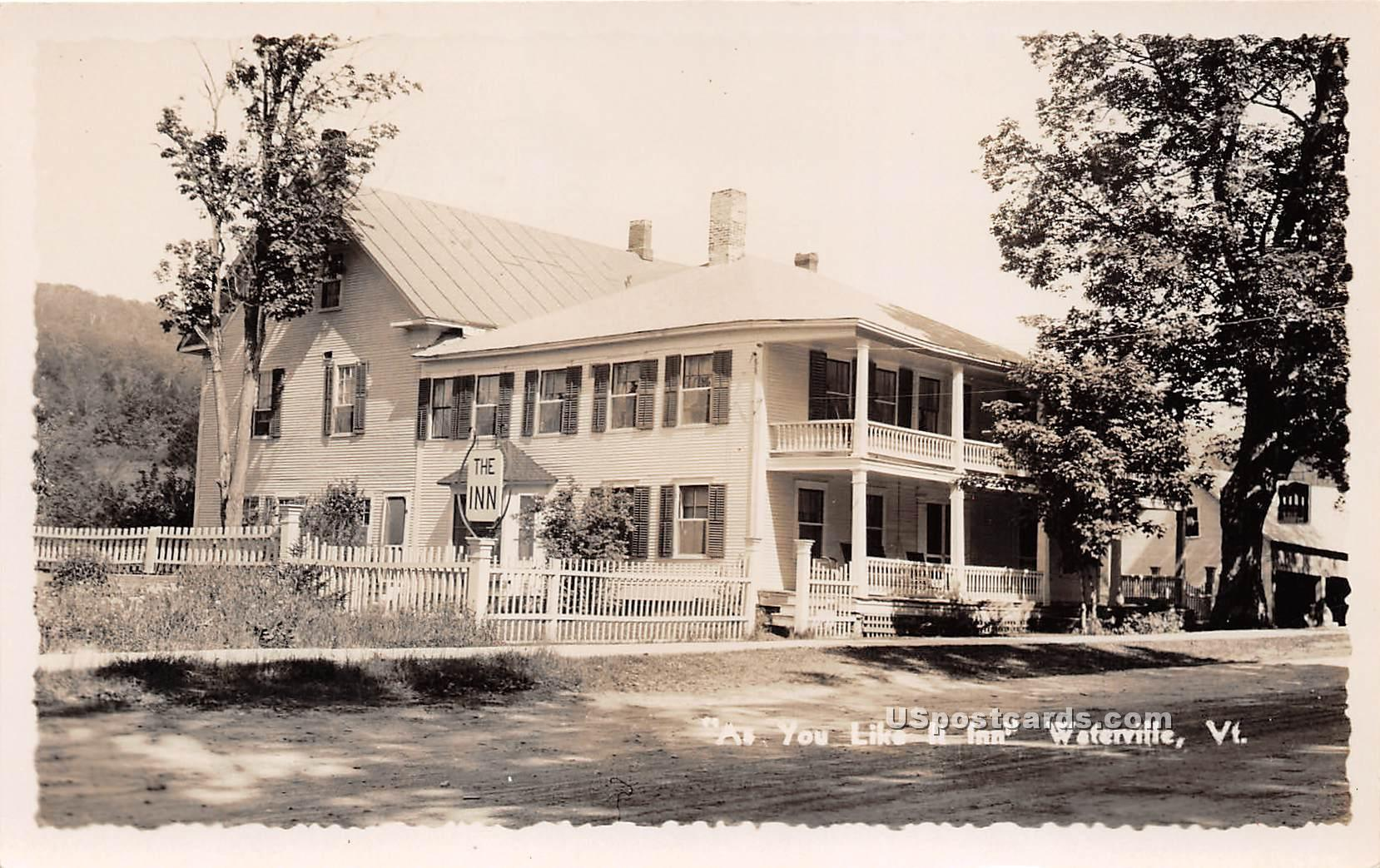 As You Like It Inn - Waterville, Vermont VT Postcard
