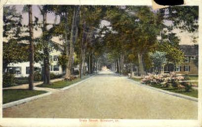 State Street - Windsor, Vermont VT Postcard