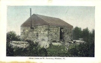 Stone House - Windsor, Vermont VT Postcard