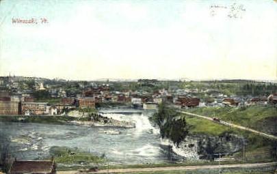 Misc - Winooski, Vermont VT Postcard