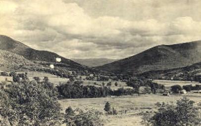 Valley of the Battenkill - West Arlington, Vermont VT Postcard