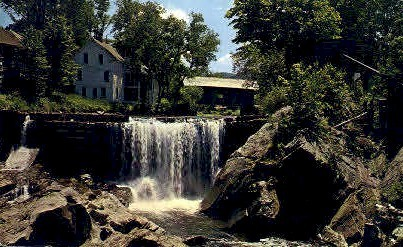 Covered Bridge - Warren, Vermont VT Postcard