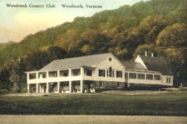 Woodstock Country Club - Vermont VT Postcard