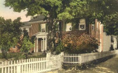 Pratt Residence - Woodstock, Vermont VT Postcard