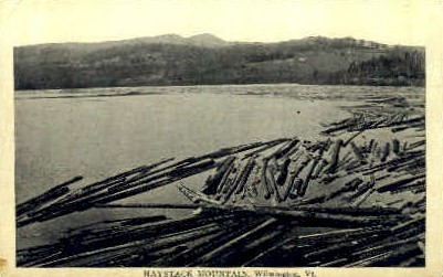 Haystack Mountain - Wilmington, Vermont VT Postcard