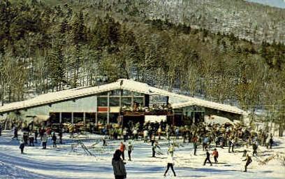 Sugar Bush Valley Ski Area - Warren, Vermont VT Postcard