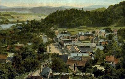 Wells River - Vermont VT Postcard