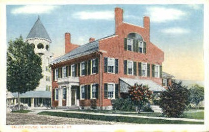 Bailey House - Woodstock, Vermont VT Postcard