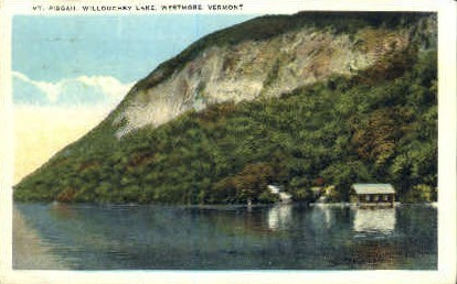 Mt. Piscah - Willoughby Lake, Vermont VT Postcard
