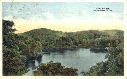The Poque - Woodstock, Vermont VT Postcard
