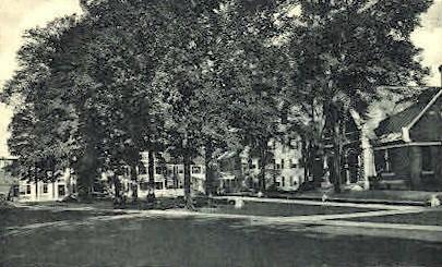 Library - Woodstock, Vermont VT Postcard