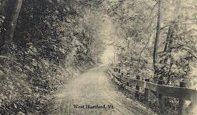 West Hartford - Vermont VT Postcard