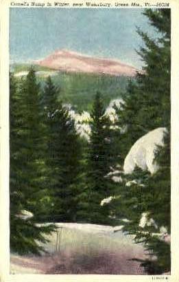 Camel's Hump - Waterbury, Vermont VT Postcard