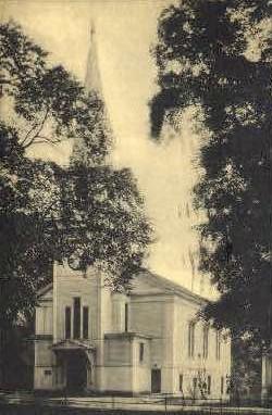 Congregational Church - Wells River, Vermont VT Postcard