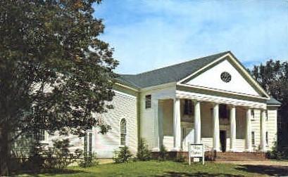 Weston Playhouse - Vermont VT Postcard
