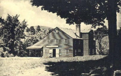 Old Stone Grist Mill - Weston, Vermont VT Postcard