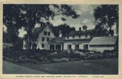 Fraser Tourist Home - Woodstock, Vermont VT Postcard