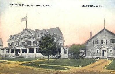 Childs Tavern - Wilmington, Vermont VT Postcard
