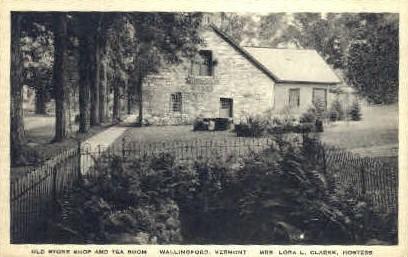 Old Stone Shop - Wallingford, Vermont VT Postcard
