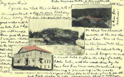 Grade School - Misc, Vermont VT Postcard