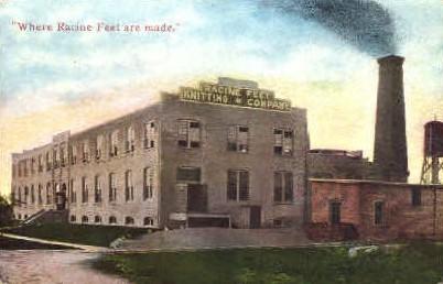Racine Feet - Misc, Vermont VT Postcard