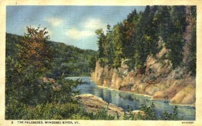 Palisades - Winooski, Vermont VT Postcard