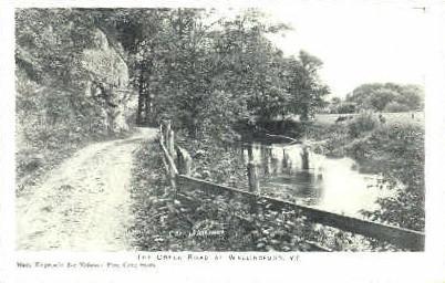 Gcreek road - Wallingford, Vermont VT Postcard