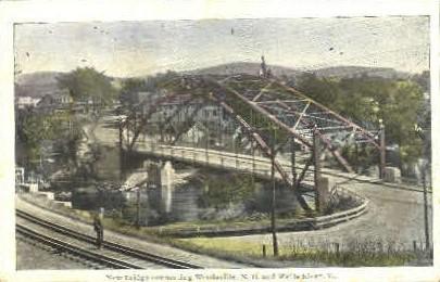 New Bridge - Wells River, Vermont VT Postcard