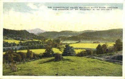 Connecticut Valley - Windsor, Vermont VT Postcard
