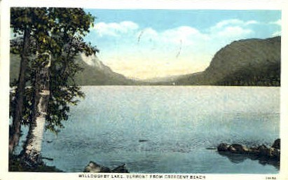 Willoughby Lake - Vermont VT Postcard