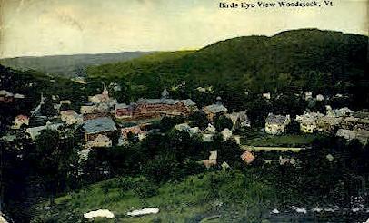 Woodstock - Vermont VT Postcard
