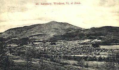 Mount Ascutney - Windsor, Vermont VT Postcard
