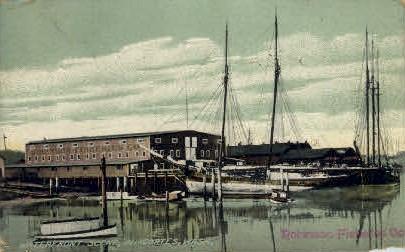 Waterfront - Anacortes, Washington WA Postcard