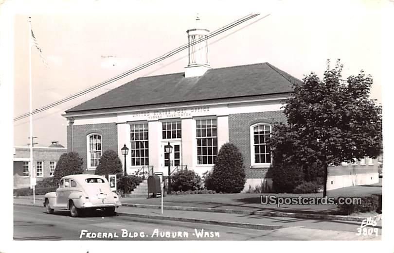 Federal Building - Auburn, Washington WA Postcard