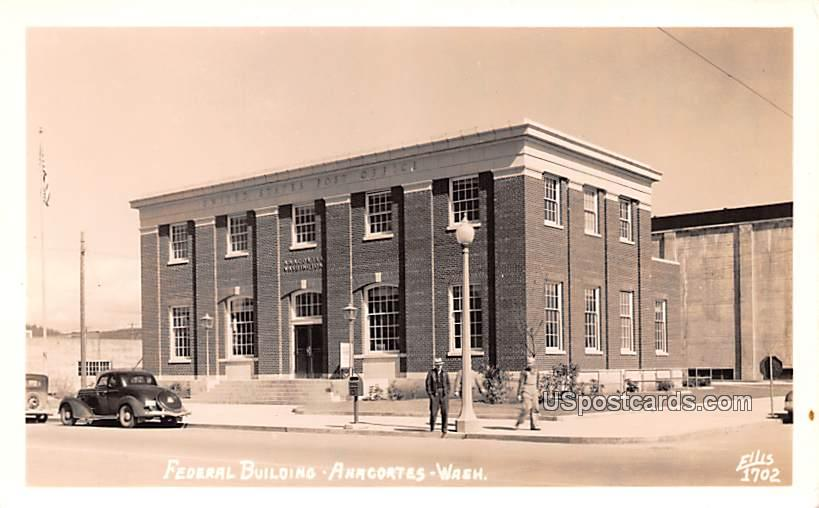 Federal Building - Anacortes, Washington WA Postcard