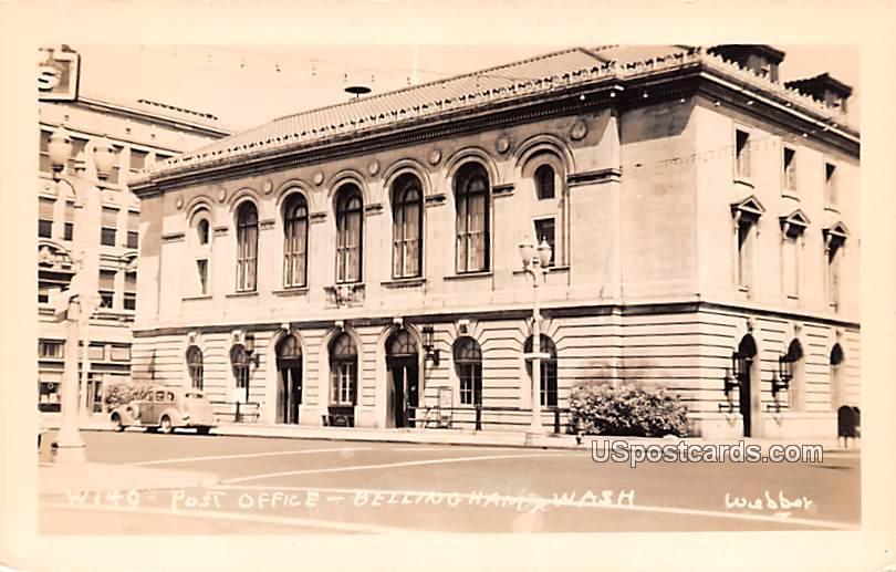 Post Office - Bellingham, Washington WA Postcard
